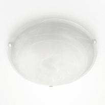 Plafoniera Emma bianco, in vetro smerigliato, diam. 50 cm, E27 3xMAX60W IP20