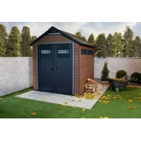 Casetta da giardino in composito Fusion 757 KETER 4.04 m² spessore 20 mm