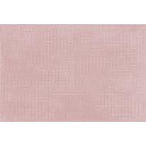 Tappeto bagno Fluffy in poliestere rosa 80 x 50 cm