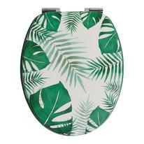 Copriwater ovale Palm decoro fantasia