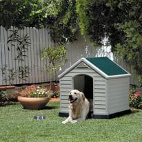 Cuccia cane KETER in polipropilene L 99 x P 99 x H 95 cm