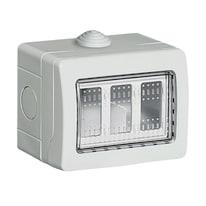 Scatola Idrobox IP55 3 moduli