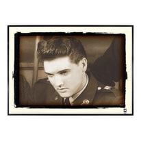 Stampa incorniciata Elvis 50.7x70.7 cm