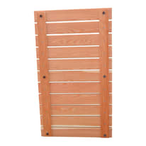 Pedana per doccia Larice Lusso in legno larice miele 103 x 58 cm