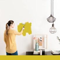 Pittura murale LUXENS 0,075 L giallo canarino 2