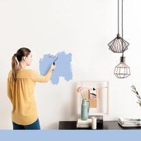 Pittura murale LUXENS 0,075 L blu 6
