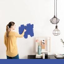Pittura murale LUXENS 0,075 L blu 2
