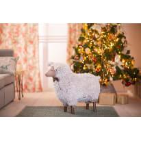Figura natalizia marrone L 24 x P 58 x H 58 cm