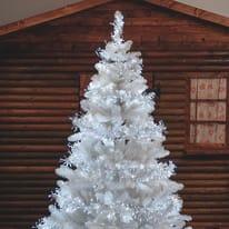 Catena luminosa 1104 lampadine LED bianco freddo 400 cm
