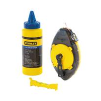 Kit per tracciatura muratore STANLEY Powerwinder blu in plastica 113 g