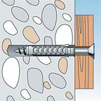 Tassello per materiale forato FISCHER SX L 25 mm x Ø 5 mm 35 pezzi