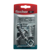 Tassello per cartongesso FISCHER 9 L 43 mm Ø 9 mm 6 pezzi