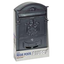 Cassetta postale formato Rivista, ghisa, L 25.5 x P 8.3 x H 41 cm