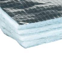 Isolante termoriflettente AXTON Reflex tetto in imbottitura in alluminio + poliestere 6.25 x 20 m, Sp 1,6 mm