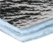 Isolante termoriflettente AXTON Reflex parete in imbottitura in alluminio + poliestere 51 x 95 m, Sp 3,5 mm