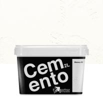 Pittura decorativa Cemento 2 l bianco effetto cemento