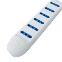 Multipresa senza protezione ELECTRALINE 82005 da appoggio bianco