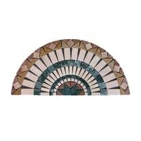 Ventaglio Bari H 45 x L 90 cm multicolore