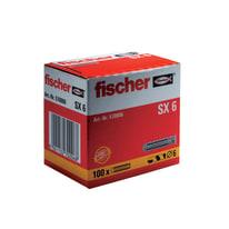 Tassello per materiale forato FISCHER SX 6 L 30 mm x Ø 6 mm 100 pezzi