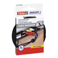Velcro Adesivo Cable manager 127 mm x 74 cm 12 pezzi
