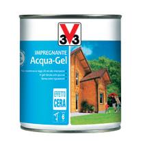 Impregnante a base acqua V33 Acqua-Gel castagno chiaro 0.75 L
