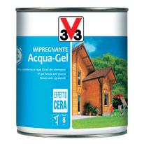 Impregnante a base acqua V33 Acqua-Gel mogano 0.75 L
