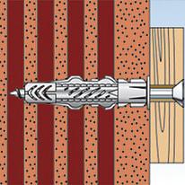 Tassello universale FISCHER UX L 60 mm x Ø 8 mm 10 pezzi