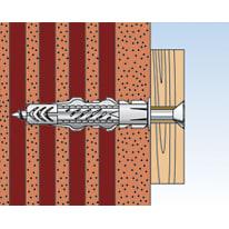 Tassello universale FISCHER UX L 35 mm x Ø 6 mm 25 pezzi