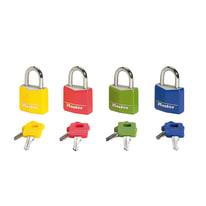 Lucchetto con chiave MASTER LOCK ansa H 18 x L 14 x Ø 5 mm