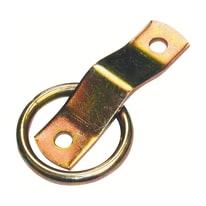 Cavallotto acciaio zincato L 80 x Sp 3 x H 50 mm