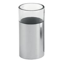 Bicchiere porta spazzolini Jumpy in inox cromo