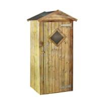 Box portattrezzi in legno di  L 100 x P 91 x H 203 cm