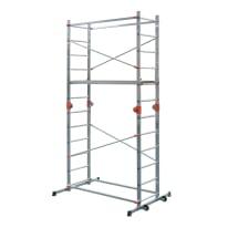 Trabattello DEXTER Combi 4 in alluminio per lavori fino a 3.9 m