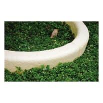 Cordolo in calcestruzzo beige/bianco L 60 x H 7 cm Sp 10 cm