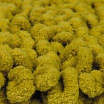 Tappeto bagno Time in cotone verde 80 x 50 cm