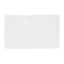 Tappeto bagno Velvet in 100% cotone ecrù 80 x 50 cm