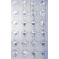 Tenda doccia Sfera in vinile blu L 180 x H 200 cm