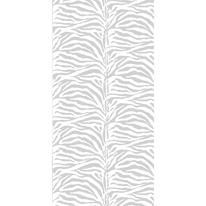 Tenda doccia Zebra in poliestere bianco L 180 x H 200 cm