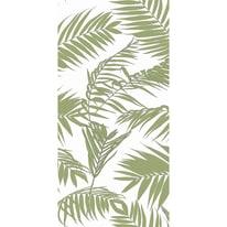 Tenda doccia Gomera in poliestere verde L 180 x H 200 cm