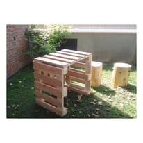Pallet in legno grezzo 120 x 80 cm
