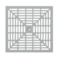 Griglia in polipropilene 40 x 40 cm