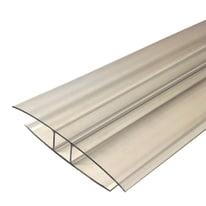 Profilo di giunzione H 7.3 cm x 2100 mm x 10 mm