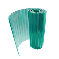 Rotolo ONDULINE ondulato Onduclair in poliestere 500 x 150 cm, Sp 1 mm verde