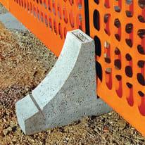 Plintino Base cemento per delimitazioni da cantiere L 56 x H 11.5 cm