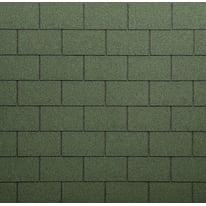 Tegola bituminosa BARDOLINE Classic in bitume 100 x 34 cm, Sp 3 mm verde sfumato