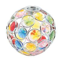 Vetro per faretto componibile sferico