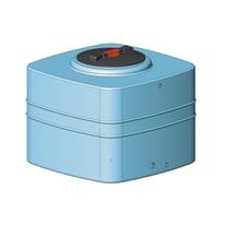 Serbatoio cubico 300 lt blu 300 L