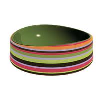 Lavabo Rotondo Onda in ceramica Ø 40 x H 14 cm multicolore