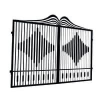 Cancello Fuji in ferro verniciato L 300 x H 180 - 200 cm