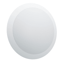 Plafoniera Pilone LED integrato in plastica, bianco, 11W 950LM IP44